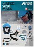 Anest Iwata VIUAF2020KIT Full Face Air Fed Mask C/W Storage Tub & Anti Static Hose